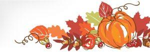 Congé de l'Action de Grâces – lundi 8 octobre