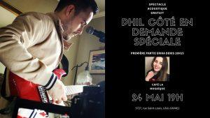Spectacle musical: Phil Côté en demande spéciale